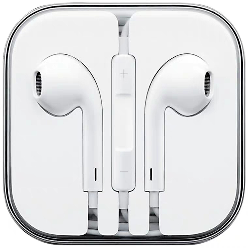 Stereo Sound Hifi Music 3.5mm Jack In-Ear Earphone For IPhone 6 6S Plus 5 5S 5C SE 4S IPad 3 Wire Control Earbud With Microphone