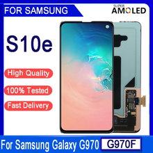 """5.8"""" Original AMOLED For SAMSUNG Galaxy S10E  SM-G9700 G970F/DS G970U G970W Display Touch Screen Digitizer Assembly Replacement"""