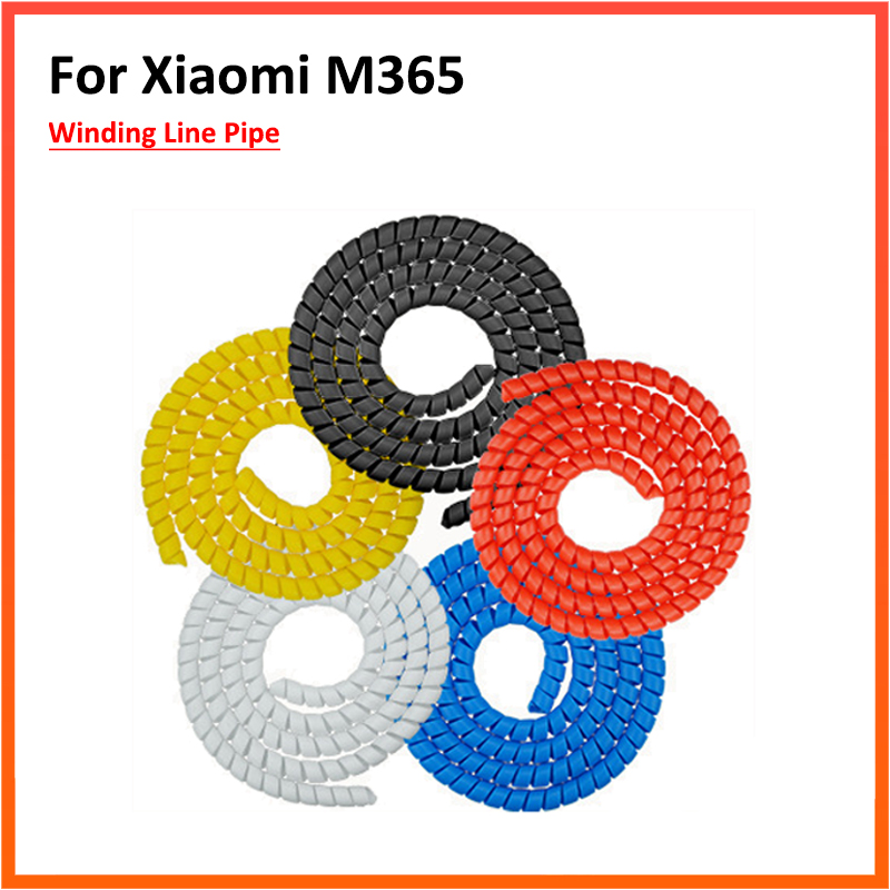 For Xiaomi M365 Cable Sleeve Wiring Harness Wiring Harness Braker Line Pipe Sleeve Cable Sleeves Electric Scooter Winding Pipe