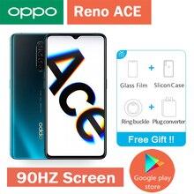 Oppo Reno Ace 4G LTE мобильный телефон Snapdragon 855 Plus 90HZ дисплей AMOLED 8G ram 128G rom 65W Super VOOC смартфон