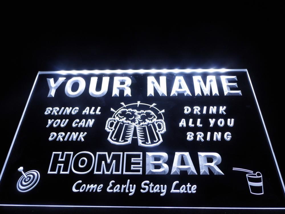 CUSTOM Neon LED Light Sign Bar Home Pub QUALITY Window Display Personalised