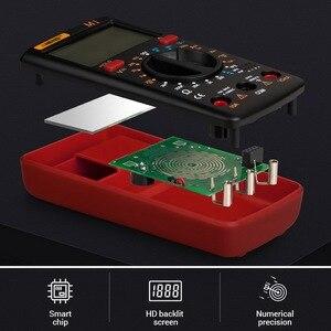 Image 5 - M1 multimètre numérique, testeur professionnel de rétroéclairage, Buzzer Diode AC/DC, multimètre A830L/830L, Portable