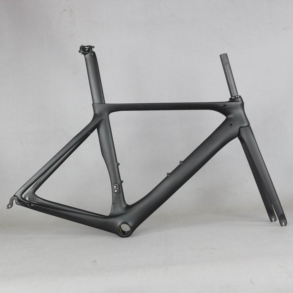 2020 OEM Brand Carbon Road Bike Frame Road Cycling Bicycle Frameset  Frame Clearance Frame Fork Seat Post Carbon Frame