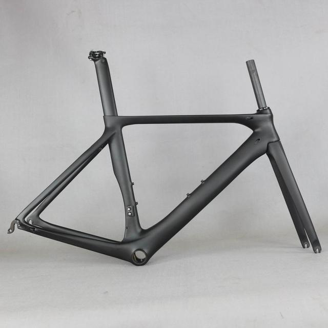 2020 OEM karbon yol bisiklet iskeleti yol bisiklet bisiklet frameset çerçeve boşluk çerçeve çatal koltuk sonrası karbon çerçeve FM286