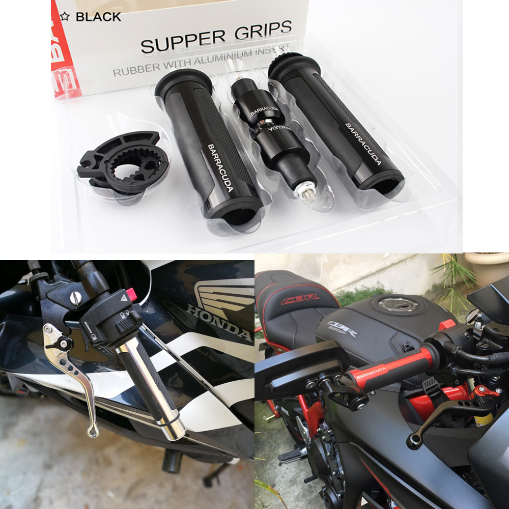 Motorcycle Hand Grips Motocross Rubber Hand Bar End Cap For Suzuki GSXR GSX-R 600 750 1000 K1 K2 K3 K4 K5 K6 K7 K8 K9 1997-2018