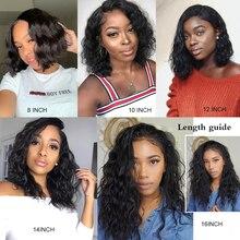 Human Hair Natural Wave Wigs