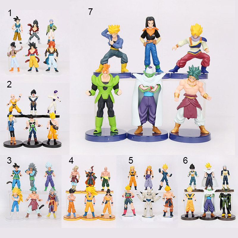 Dragon Ball Z Action Figures Set 15cm 3