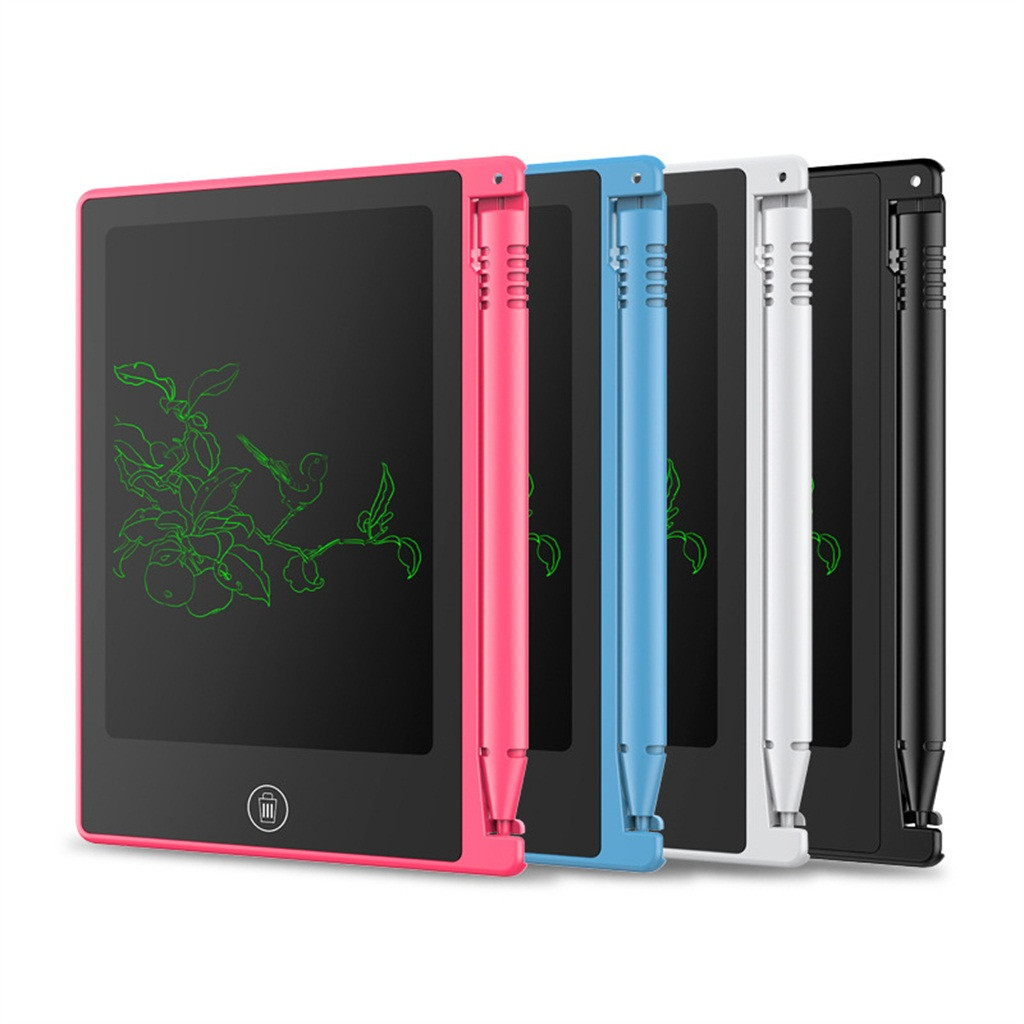 Mini Magnetic Blackboard Board 4.5 Inch Electronic Chalkboard For Kids LCD Writing Notebook Flipchart Drawing Flip Chart Tablet