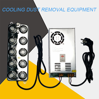 Cooling dust removal equipment landscape atomizer ten atomizing panels 10 head pool sprayer