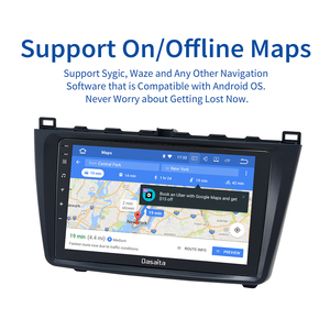 """Image 5 - Dasaita 9"""" IPS Touch screen Car Stereo GPS Android 10.0 for Mazda 6 2009 2010 2011 2012 Navigation Bluetooth TDA7850 4GB RAM"""