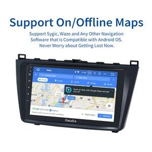 Image 5 - Dasaita radio estéreo con GPS para coche, Pantalla táctil IPS de 9 pulgadas, Android 10,0, Bluetooth, TDA7850, 4GB de RAM, para Mazda 6, 2009, 2010, 2011, 2012