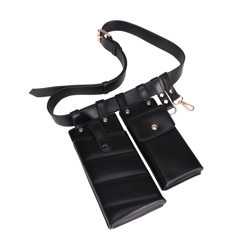 Women Waist Bag Leather Waist Belt Bag Crossbody Chest Bags Girl Fanny Pack Adjustable Small Phone Pack Shoulder Strap Packs