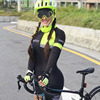 2019 pro equipe triathlon ciclismo terno manga longa jérsei skinsuit macacão maillot ciclismo roupas gel conjunto 9