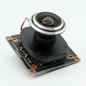 "Image 5 - HD 1080P AHD 1/2. 9 ""Sony IMX323 + NVP2441 Starlight נמוך תאורת CCTV לוח מצלמה מודול PCB + 1.7mm fisheye עדשה"
