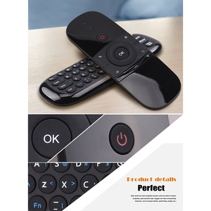 Image 5 - W1 Air Mouse Keyboard 2.4G Hz Fly Mouse Remote Control with Keyboard for Android Box TV Box Smart TV