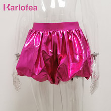 Karlofea Neue Reizende Laterne Kurze Hosen Weibliche Casual Täglichen Outfits Böden Shorts Sexy Club Night Party Disco Promi Trägt(China)