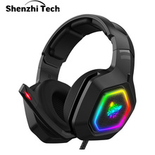Gaming Headset Surround-Sound Ps4 Xbox-Switch Computer Laptop Wired with Mic-7.1 USB