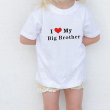 illustradedide Pull /à manches longues pour enfant Motif Happiest Big Brother Ever