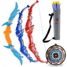 Детский комплект для мальчиков с имитацией лука и стрелы складная