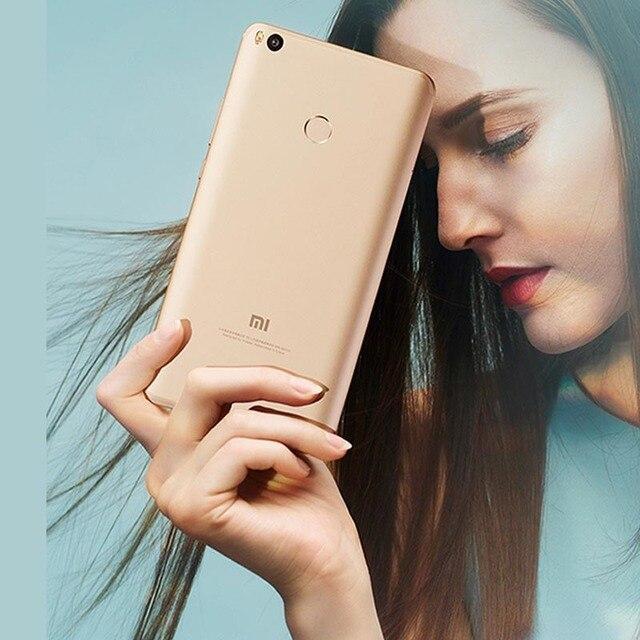 Xiaomi Mi Max 2  4G RAM 64GB 6.44inch  4G LTE 5300mAH Rear-mounted Fingerprint Android Cellphone Unlocked refurbished 4