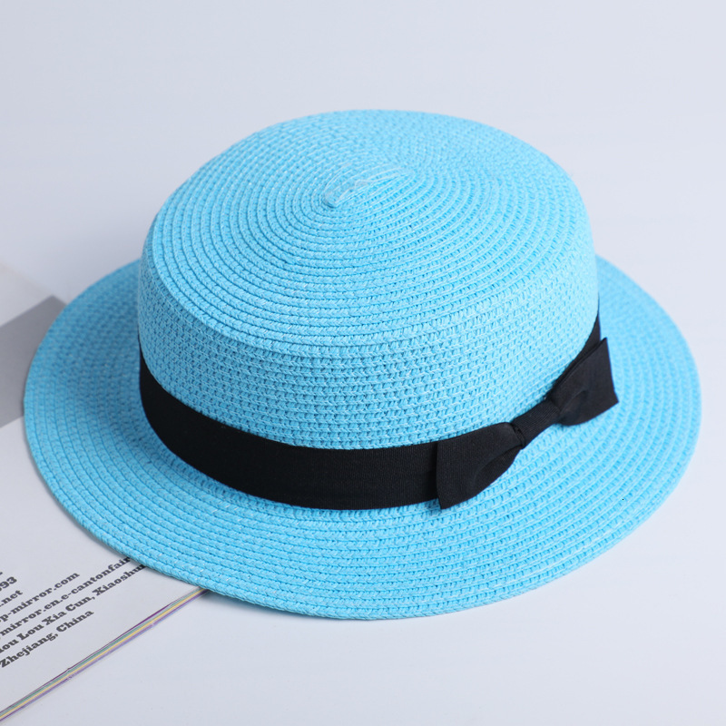 Simple Summer Casual Beach Hat Female 19