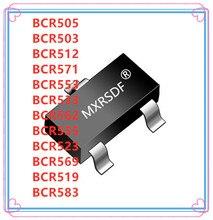 50 sztuk BCR505 BCR503 BCR512 BCR571 BCR553 BCR533 BCR562 BCR555 BCR523 BCR569 BCR519 BCR583 SOT 23