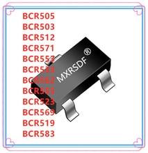 50PCS BCR505 BCR503 BCR512 BCR571 BCR553 BCR533 BCR562 BCR555 BCR523 BCR569 BCR519 BCR583 SOT 23