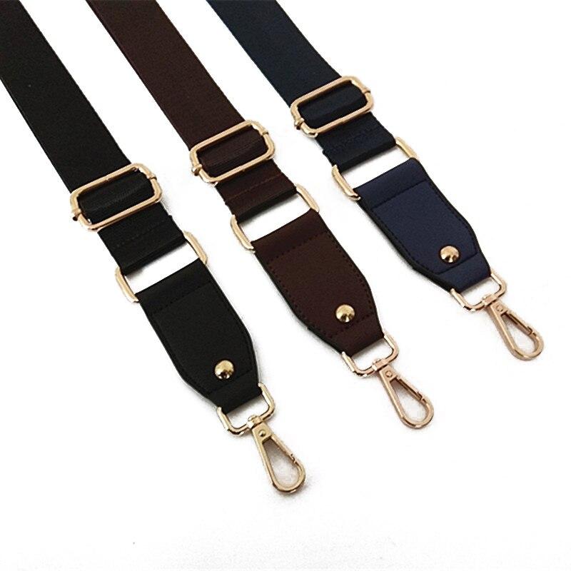 DIY Bag Wide Strap Crossbody Shoulder Handbags Decorative PU Messenger Belt Adjustable Bag Strap Belt Removable Nylon Bag Strap
