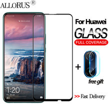 2-in-1 3D Tempered Glass For Huawei P Smart Z p smart 2019 Screen Protector Y9 prime 2019 Camera glass huawei p smart z Glass(China)