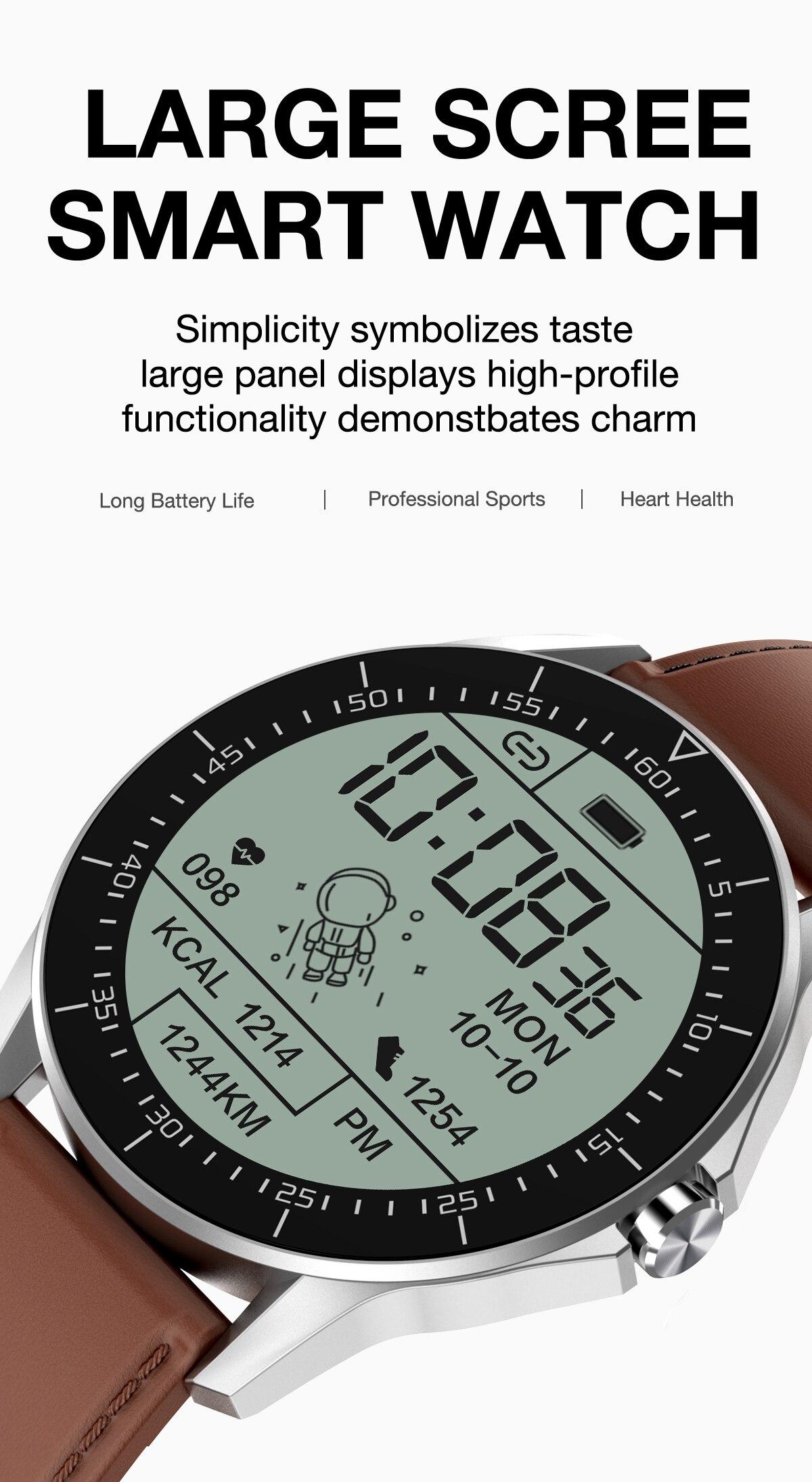 Smart Watch For Huawei  Apple Xiaomi Bluetooth Call reminder smartwatch Men IP68 Waterproof Fitness watch sport Smart watch 2021 2
