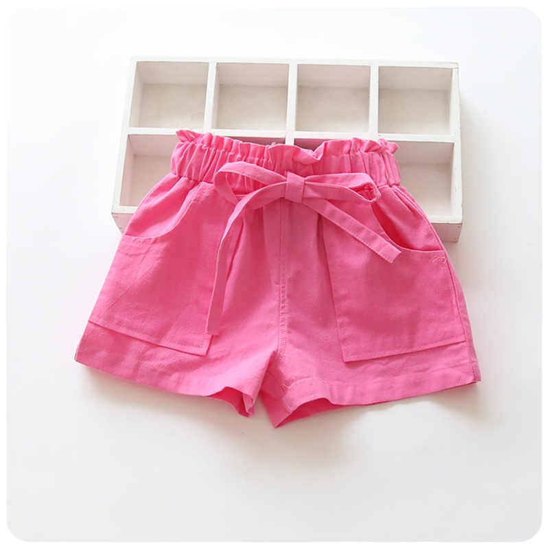 קיץ ילדי מכנסיים קצרים מכנסי כותנה בני בנות פעוטות מכנסיים ילדים חוף קצר ספורט מכנסיים תינוק בגדים
