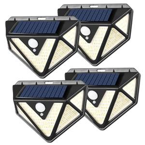 166 LED Solar Light Outdoor PI