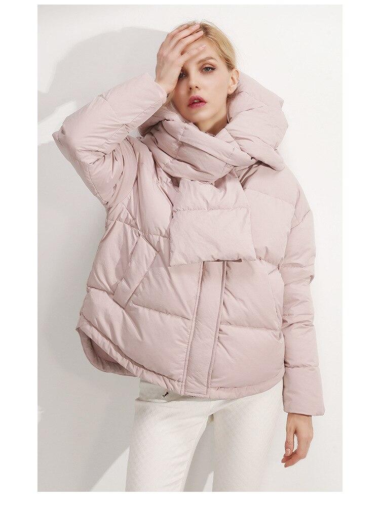2020 New Winter Autumn Women Long Sleeve Warm Jackets Coats Windproof Casual Cotton Ladies Hoodies Coats S M 89-240