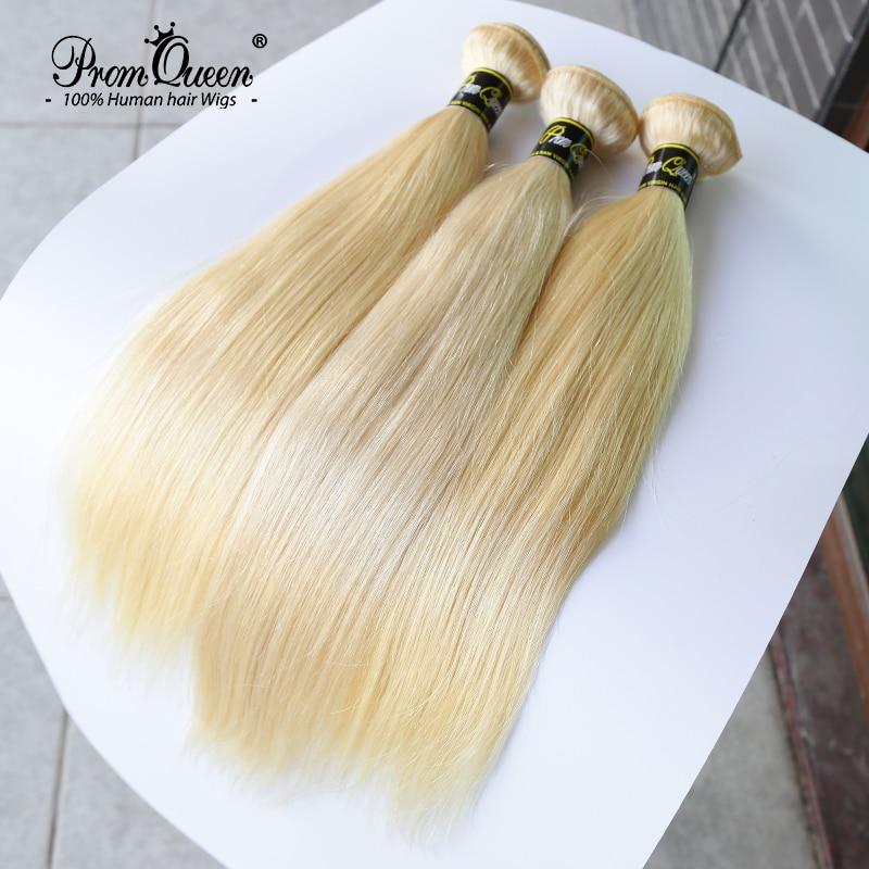 Оптовая продажа, 613 пучков бразильских человеческих волос Promqueen, пучки, волнистые натуральные волосы 9A, длинные волосы 8-30 дюймов, прямые свет...