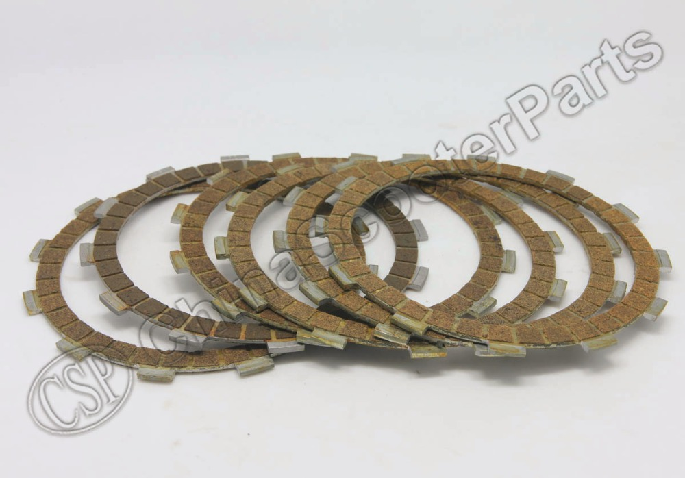 6PCS NC250  CLUTCH Plate 250CC ZongShen ZS177MM  Xmotos Apollo KAYO T6 BSE 250 4 Valve Dirt Pit Bike