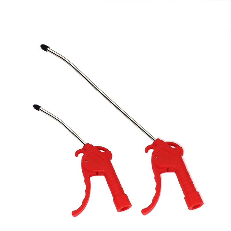 1 Pc Red Plastic Handle Dust Gun Air Compressor AR-TS Air Duster Compressor Blow Gun Pistol Type Pneumatic Cleaning Tool