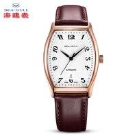 Seagull watch men automatic watch men mechanical watch Wine barrel watch luxury brand Business watch 50mWater proof watch549.402