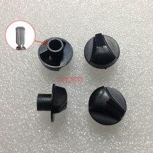 5 шт. переключатель потенциометра, черная ручка, крышка/6 мм, переключатель отверстия audio, Кнопка громкости звука, крышка/ручка питания, цвето...
