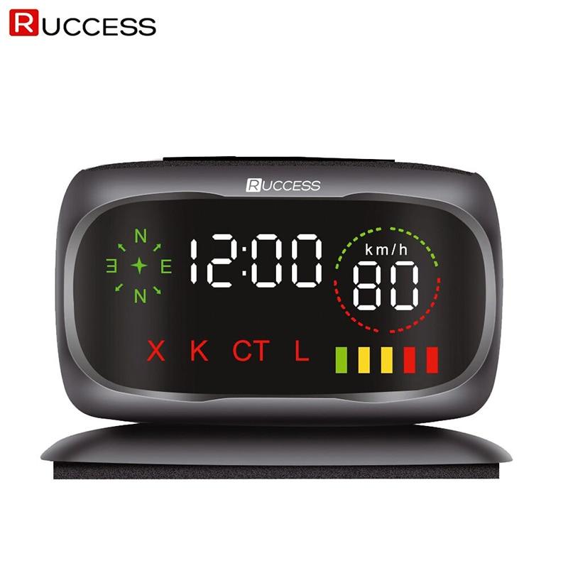 Ruccess S800 Radar Detectors Police Speed Car Detector GPS Russian 360 Degree X K CT L antiradar
