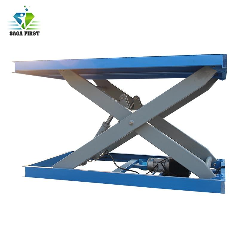 Hot Sale 2m 1000kgs Hydraulic Lifting Platform, Stationary Scissor Hydraulic Lifting Platform