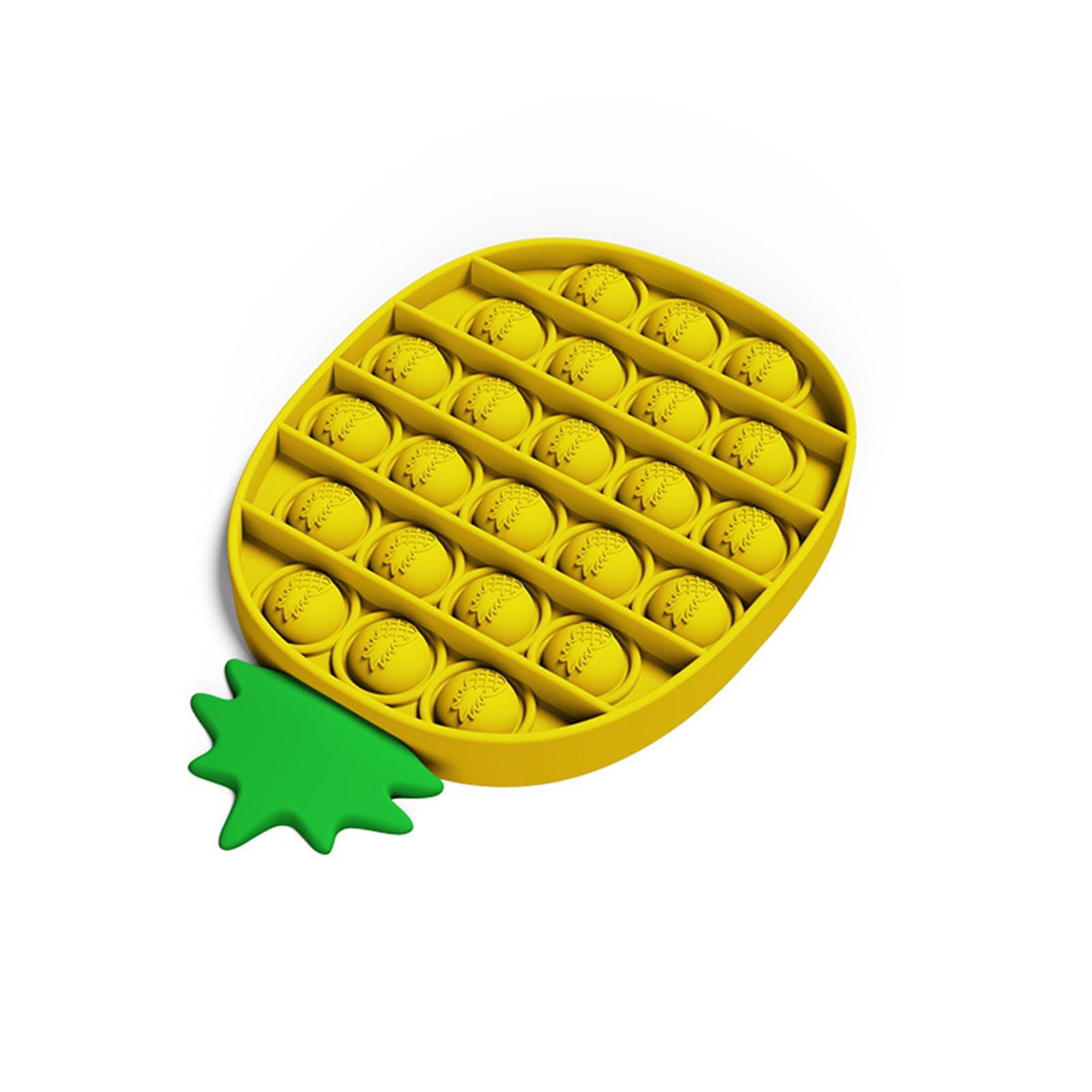 Push Pop bulle Fidget ananas anti-Stress-jouets anti-Stress, jouets éducatifs de table jouets sensoriels, Stress et anxiété