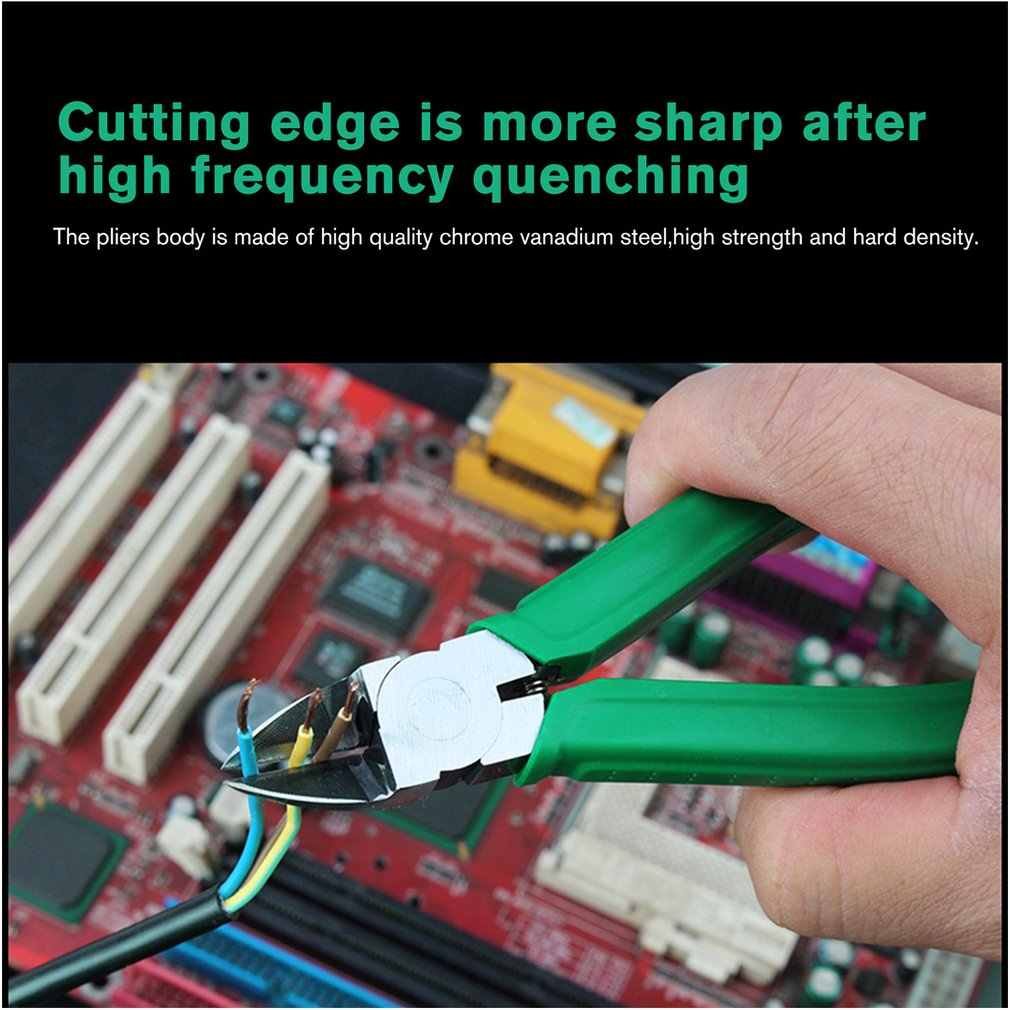 Laoa Japan Type Tang Tangen Cr-V Plastic Sieraden Elektrische Draad Kabel Cutters Snijden Side Knipt Electrictrician Tool