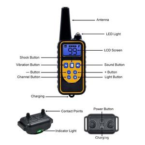 Image 2 - ON SALE! Dog Collar Waterproof Rechargeable Electric Dog Training Collar With Remote Controller Electric Pet Dog Training Collar