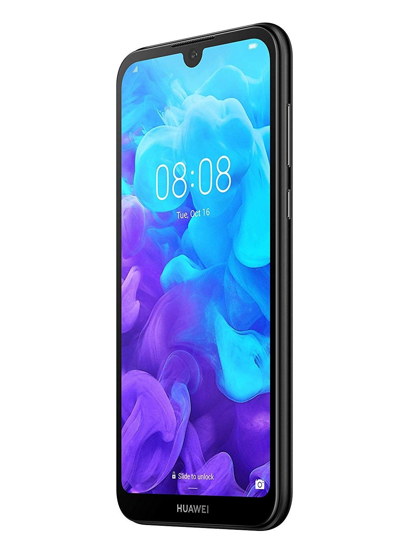 <font><b>Huawei</b></font> Y5 (2019), Black Color (Black), GB 16 de Memoria Interna, 2gb Ram, screen 5.71