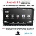 2 din 9 Android 9,0 2G RAM coche Radio Estéreo GPS Navi para VW Passat B6 CC Polo GOLF 5 6 Touran Jetta Tiguan Magotan asiento BT SWC