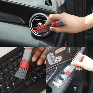 Car Cleaning Brushes Auto Accessories Detailing Brushes car-styling Keyboard Dust Collector Computer Window Blinds Clean Tools
