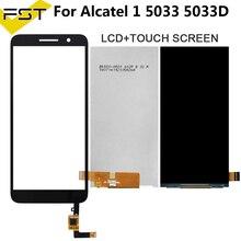 Para Alcatel 1 5033 5033A 5033J 5033X 5033D 5033T Monitor LCD pantalla + Digitalizador de pantalla táctil para Telstra esencial Plus 2018