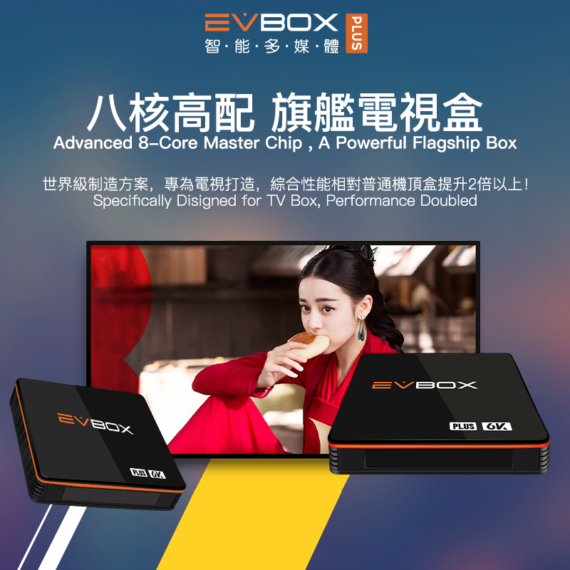 Image 4 - EVBOX Plus Upgrade EVBOX 3R+ Android tv box from EVPADSet-top Boxes   -