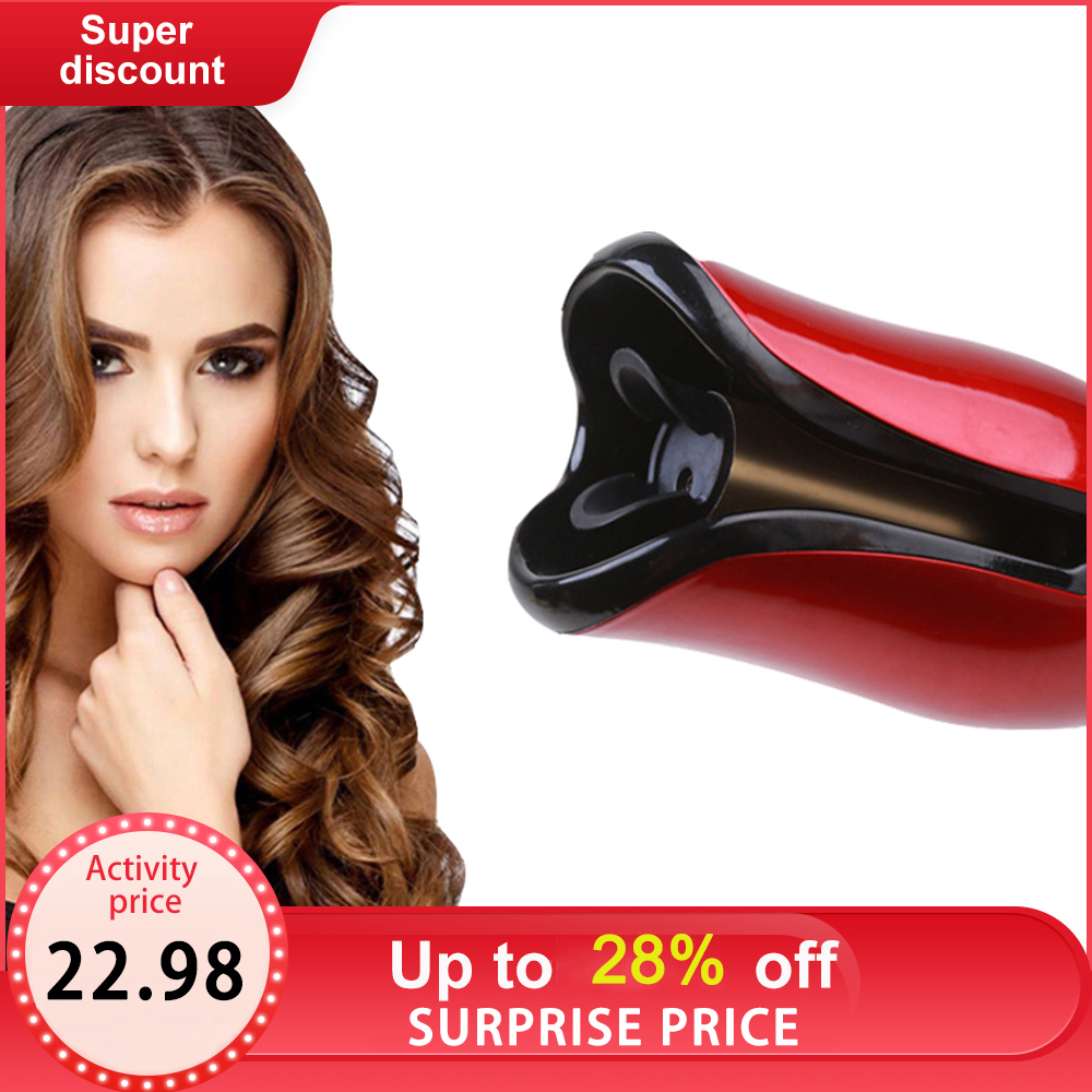 New Coming Automatic Curling Iron Air Curler Air Spin Ceramic Rotating Air Curler Air Spin N Wand Curl 1 Inch Magic hair curler(China)