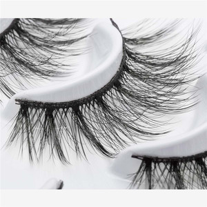 Image 4 - ISEEN 7 pairs natural false eyelashes fake lashes long makeup 3d mink lashes eyelash extension mink eyelashes for beauty